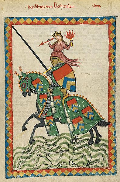 395px-Codex_Manesse_Ulrich_von_Liechtenstein