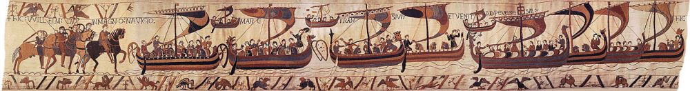 Invasion_fleet_on_Bayeux_Tapestry