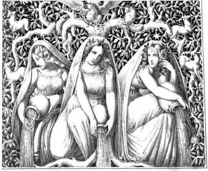 Norns_(1832)_from_Die_Helden_und_Götter_des_Nordens,_oder_Das_Buch_der_sagen