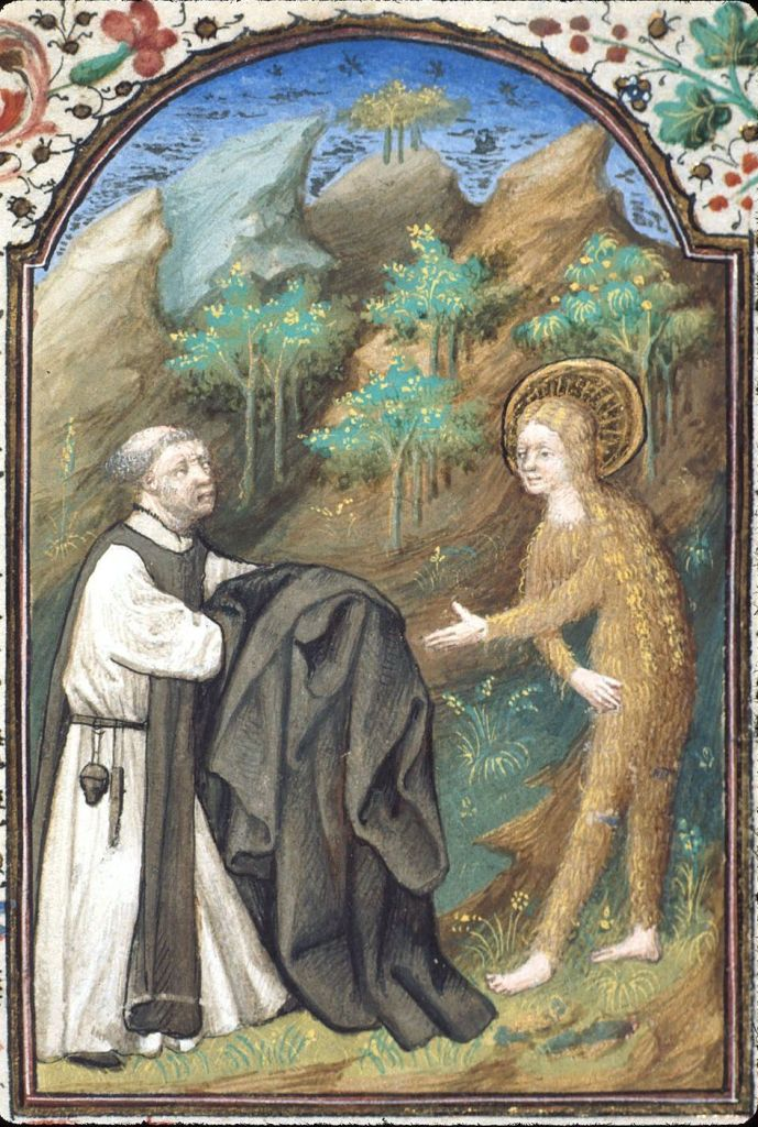 Ікона Марії Єгипетської, XV ст.