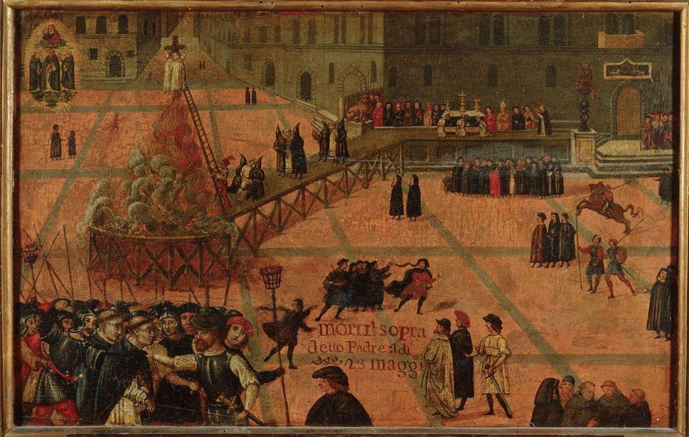 Filippo_Dolciati_(1443_-_1519)_Execution_of_Girolamo_Savonarola._1498,_Florence,_Museo_di_San_Marco