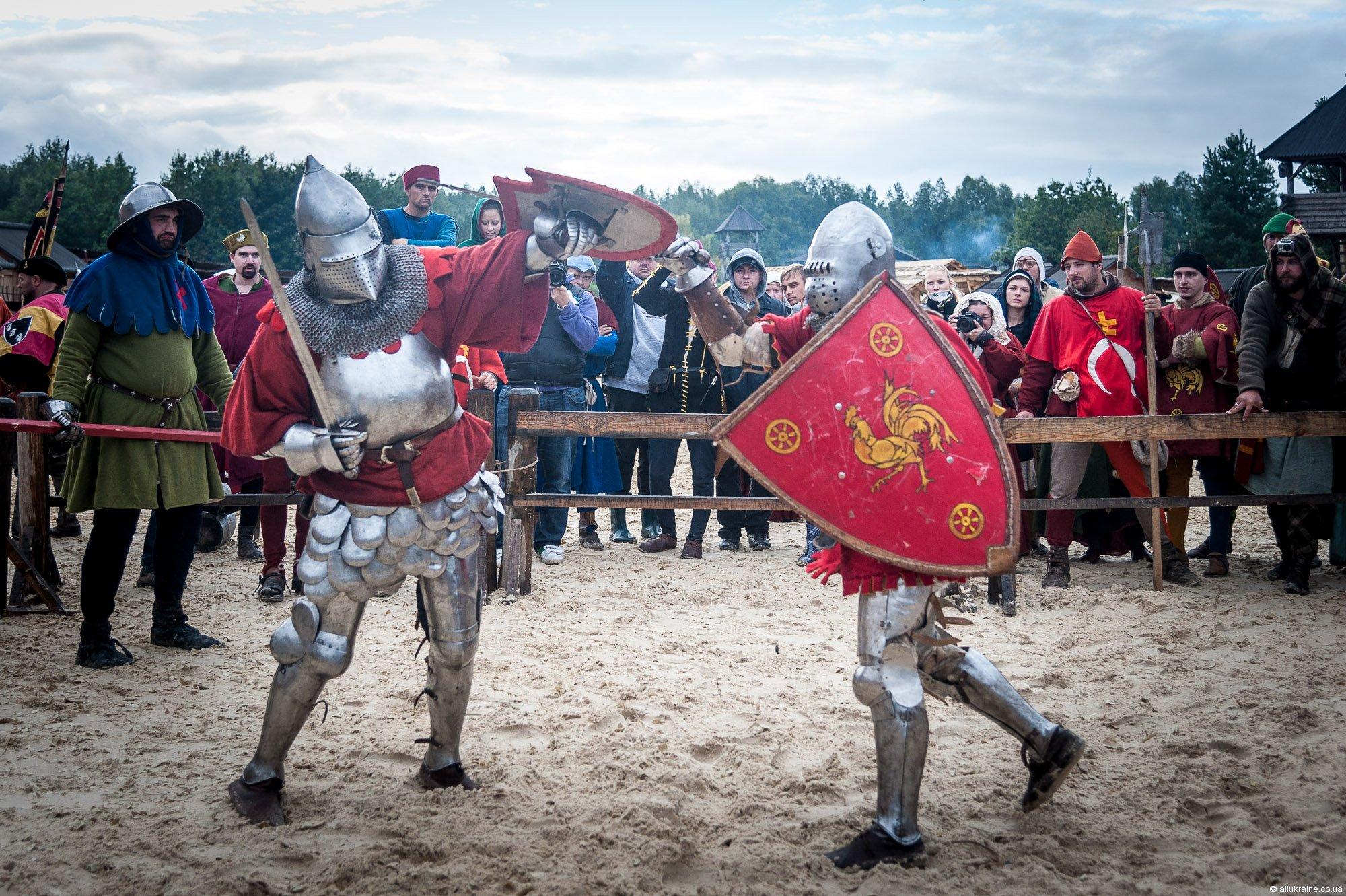 Середньовічні забави, лицарі і конкурси: Цікавинки фестивалю Галицьке лицарство