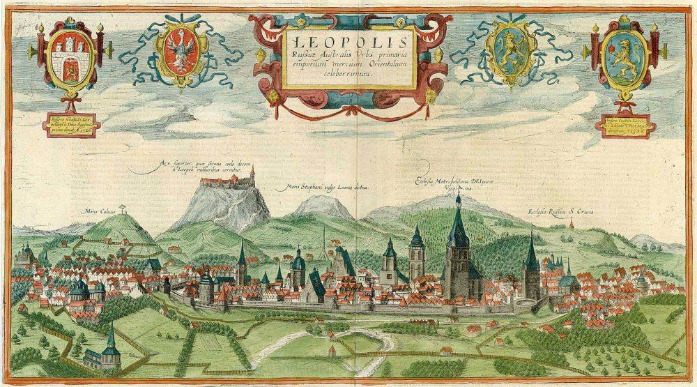 Панорама Гоґенберґа-Пассаротті 1617-1618