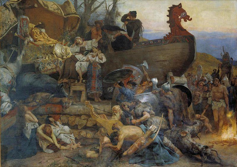Funeral_of_ruthenian_noble_by_Siemiradzki