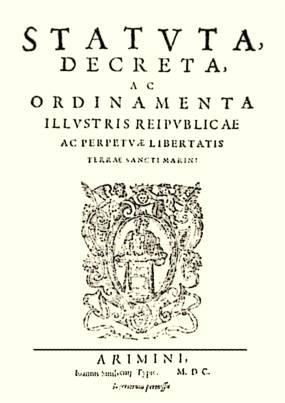 San_Marino_constitution_1600