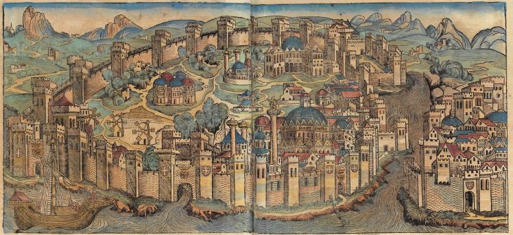 Nuremberg_chronicles_-_CONSTANTINOPEL
