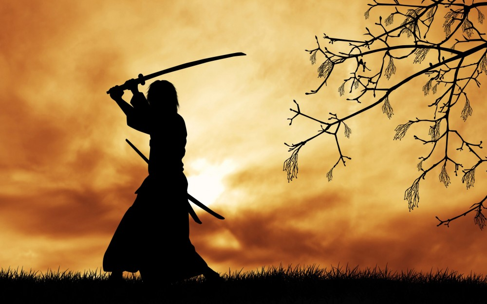 siluet-samuray
