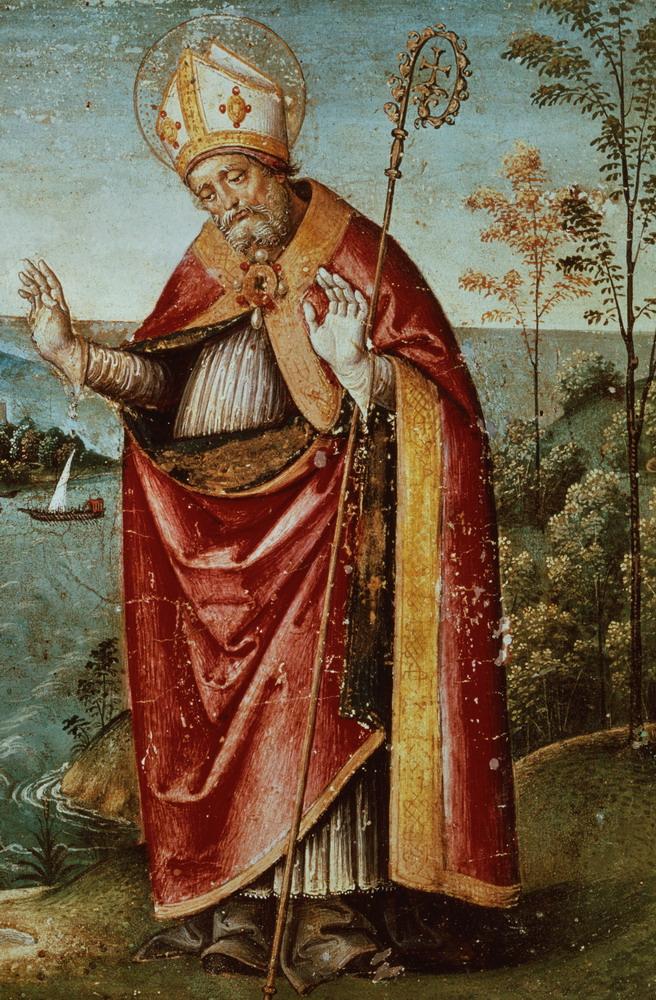 Painting of Saint Augustine