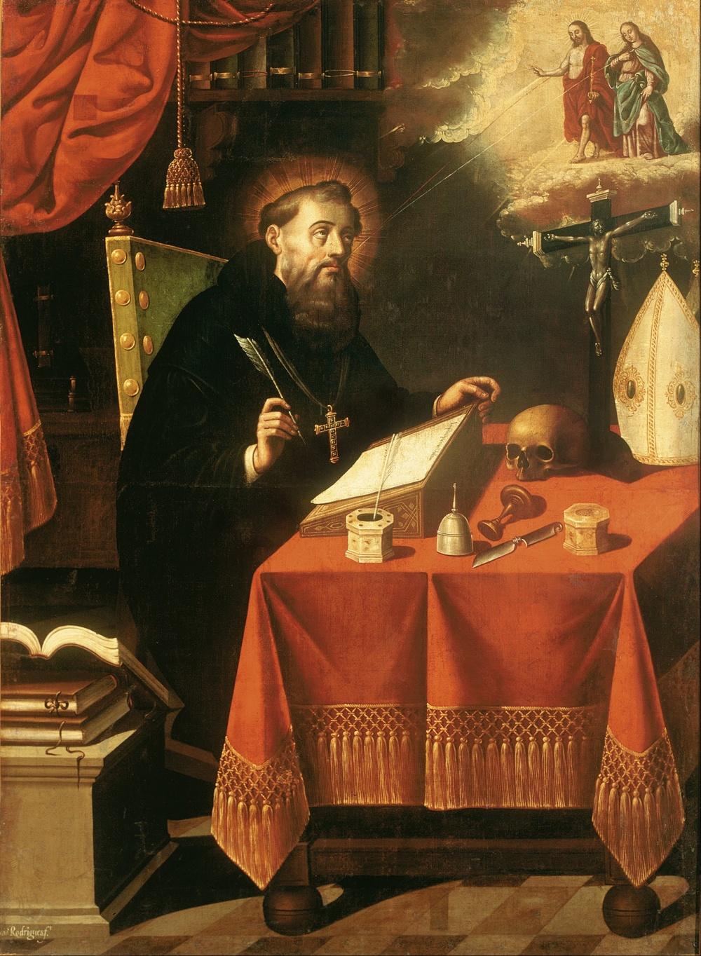 St Augustine by Antonio Rodríguez