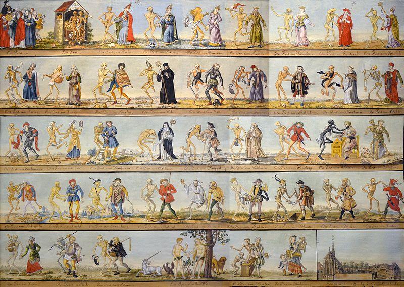 «Танок смерті» в культурі Середньовіччя