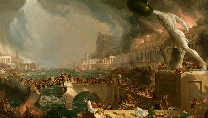 ПАДЕНИЕ ЗАПАДНОЙ РИМСКОЙ ИМПЕРИИ: ЮРИДИЧЕСКАЯ РЕКОНСТРУКЦИЯ ПРОЦЕССА