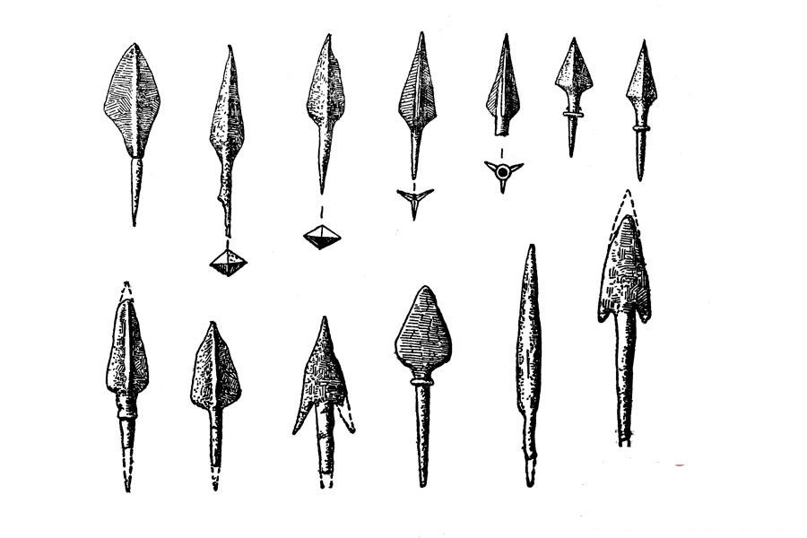 Різноманітні типи стріл77788888888