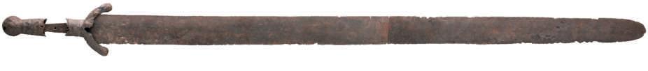 The sword from Khevsureti (11-12 с.). Tsursumia M. Medieval sword. P. 160