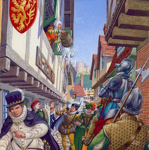 An Elizabethan Street Scene.jpg