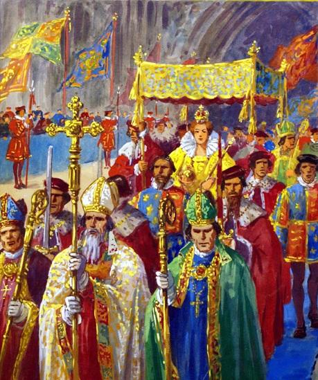 Coronation of Elizabeth I - Procession - копия.jpg